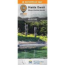 Haida Gwaii BC Waterproof Map: 2nd Edition