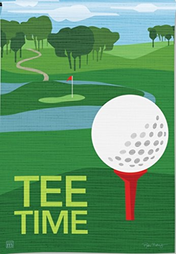 breezeart play golf garden flag