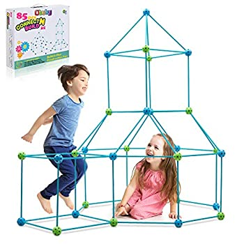 Obuby Children Building Fort Constructing Package Final Forts Builder Reward Construct Making Kits Toys for Boys and Women to DIY Constructing Castles Tunnels Play Tent Rocket Tower Indoor & Outside