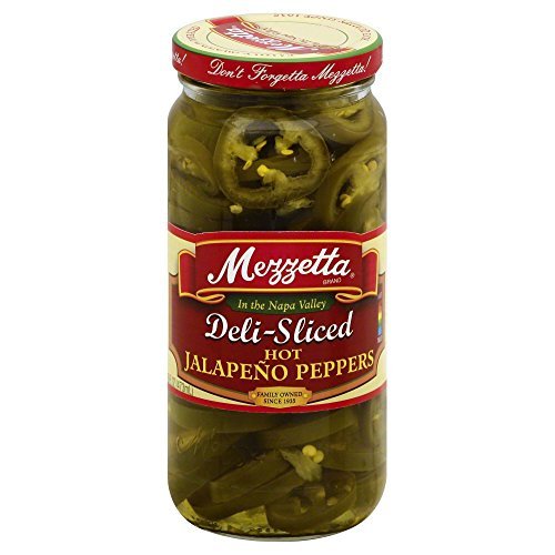 (Mezzetta Deli-Sliced Hot Jalapeno Peppers, 16 Ounce (Pack of 6))