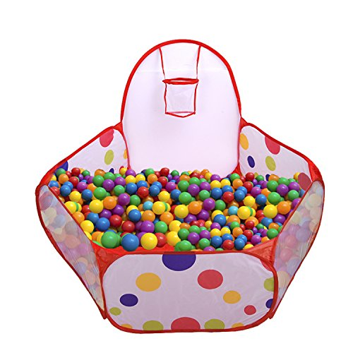 Mudder Playpen Toddler Basketball Included