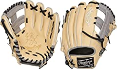 """Rawlings Heart of Hide Adult Elite 11.5"""" Infield Baseball Glove Camel RHT PROTT2-1C. Constructed from Rawlings' world-renowned Heart of the Hide steer hide leather, Heart of the Hide gloves feature the game-day patterns of the top Rawlings Ad..."""