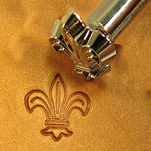 O4 Fleur-De-Lis Leathercraft Stamp