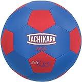 Tachikara SS32 Soft Kick Fabric Soccer Ball, Blue/Red