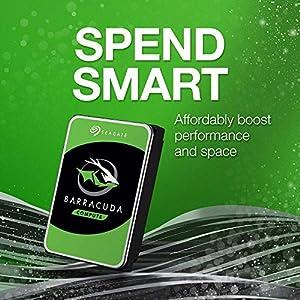 Seagate BarraCuda 2TB Internal Hard Drive HDD 3.5 Inch SATA 6Gb/s 7200 RPM 256MB Cache 3.5-Inch Frustration Free…