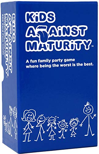 Halloween Parties Ideas 2019 (Kids Against Maturity: Card Game for Kids and Humanity, Super Fun Hilarious for Family Party Game)
