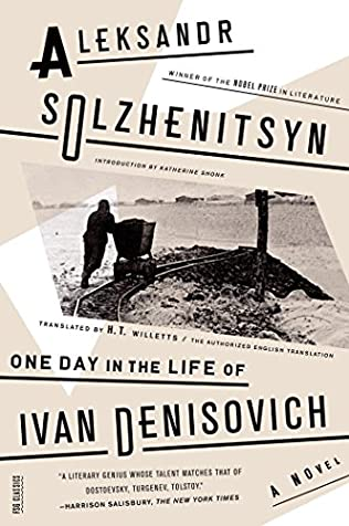 book cover of One Day in the Life of Ivan Denisovich