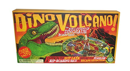 - House of Marbles Dino Volcano! The Exciting Dinosaur Board Game
