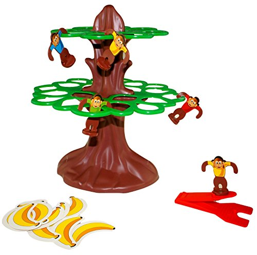 Monkey Tree Jump Game for 2 to 4 Players