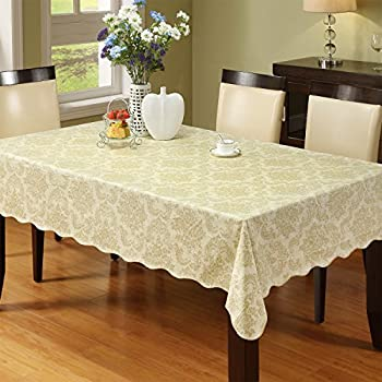 Merveilleux Ennas Cz016 Waterproof Modern Vinyl Tablecloth Oblong(rectangle) (47 Inch  By 60