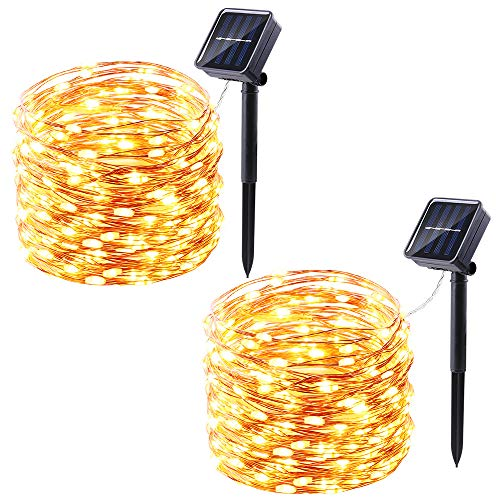 100 Solar Fairy Lights in US - 4