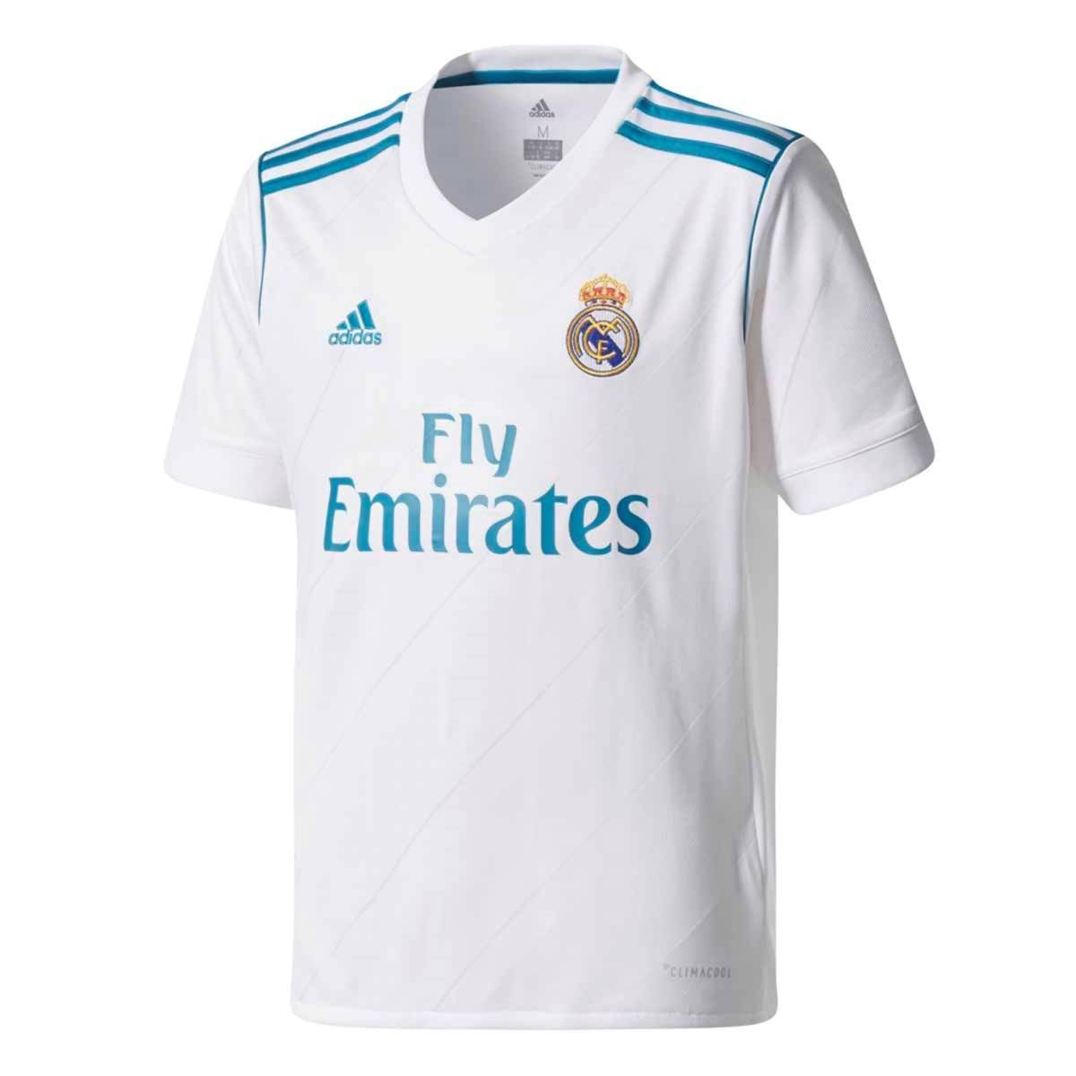 4236926c Amazon.com : adidas Real Madrid Home Soccer Jersey Youth 2017/18-White :  Sports & Outdoors