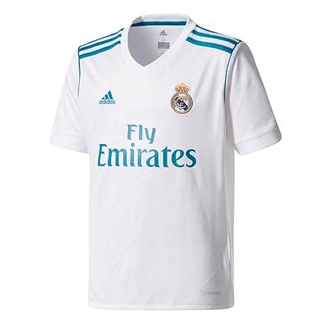 334c4db66da48 adidas Real Madrid CF Home Youth Jersey [White]