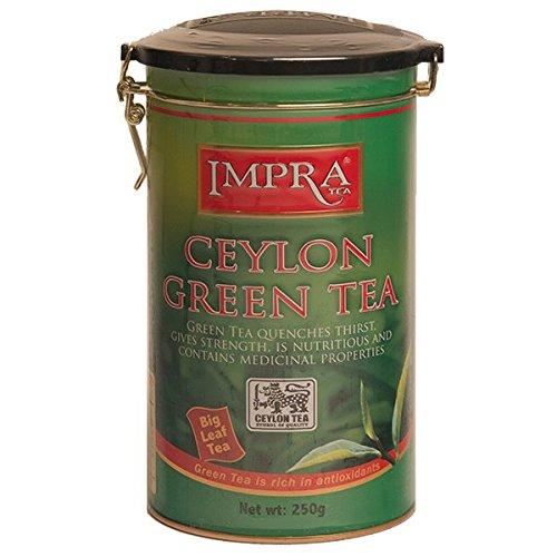 Ceylon Green Tea, Loose Tea, Big Leaf, Impra (3 pack)