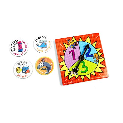 Dog Man Board Game Attack of The Fleas (Fuzzy Little Evil Animal Squad) by University Games Based On The Popular Dog Man Book Series by DAV Pilkey, Multi