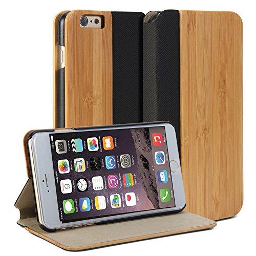 iPhone GMYLE Wallet Wooden Display