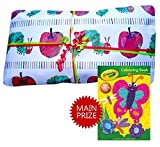Hungry Caterpillar Pass the Parcel Party Game - Hand Made - 8 to 25 layer options available (18 Layers) by Parties Wrapped Up