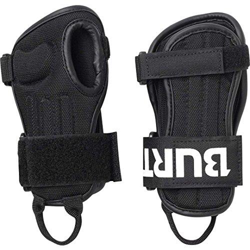 Burton Youth Impact Wrist Guard, True Black, Large/X-Large (Profile Under Snowboard Gloves)