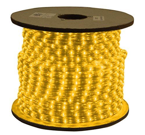 American Lighting LED Flexbrite 1/2-Inch Rope Light Reel, 150-Feet, Amber