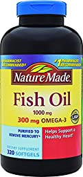 Nature Made Fish Oil Softgel, 320 Count