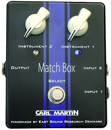 Carl Martin Match Box Dual Instrument to Single Amp Selector - Martin Amplifier