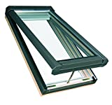 FAKRO 807112 Fve Electric Venting Skylight, Laminated Glass, Fve-504L (30-1/2 x 37-1/2 Inches)