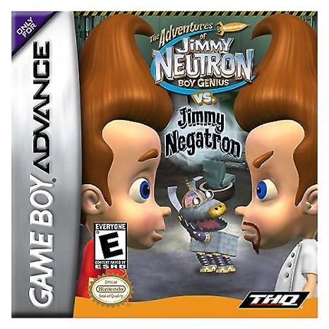 Jimmy Neutron vs. Jimmy Negatron (GBA)