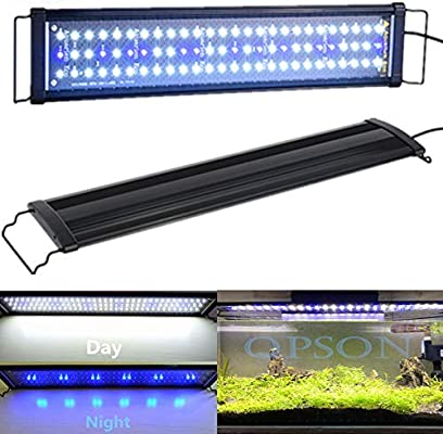 Led Aquarium Light 2835 Highlight Bracket Light Trolley Bracket Light Blue And White Two Files Design Eco Led Aquarium Light 30x12x2cm Buy Online At Best Price In Uae Amazon Ae
