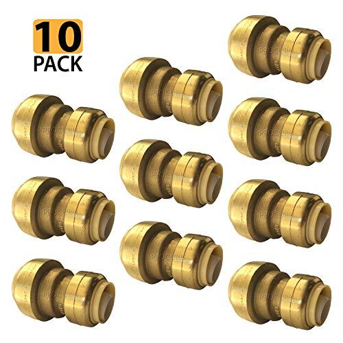 Reducer 1/2 Pvc - [10-Pack] PROCURU PushFit 3/4