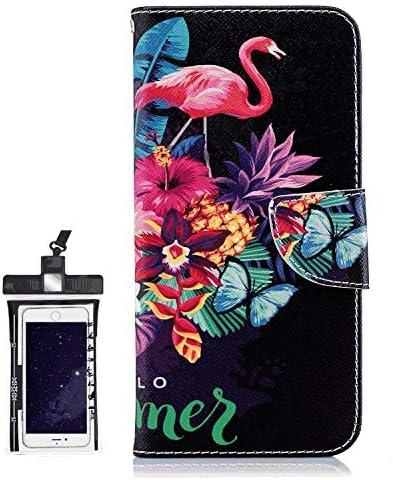 Samsung Galaxy S10 レザー ケース, 手帳型 サムスン ギャラクシー S10 本革 財布 携帯ケース 耐摩擦 ビジネス カバー収納 無料付スマホ防水ポーチIPX8 Classical