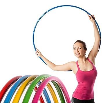 NiroSport Hula Hoop Reifen Aluminium Gymnastikreifen Fitnessreifen 90 cm