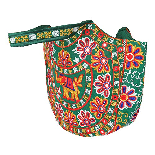 Borsa Rajasthani Bellissimo Tracolla Design Con 10 Ricamato Regalo Indiana A Tradizionale Craftstribe Da Donna p1qdfwfxt