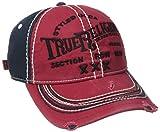 True Religion Men's Triple X Baseball Cap, True Red, One Size
