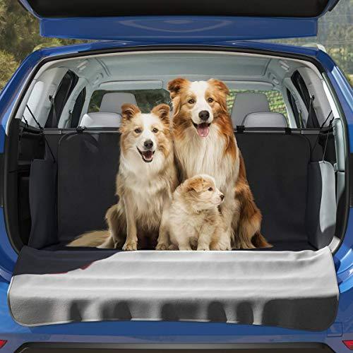 BELISY Universal Kofferraum Schutz – mit Seiten- & Ladekantenschutz – Perfekte Schutzdecke für Hunde – Auto Schondecke für einen sauberen Kofferraum