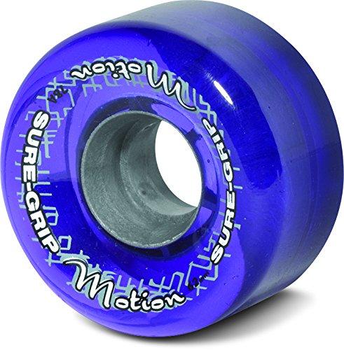 Sure-Grip Motion Outdoor Wheels Clear Purple