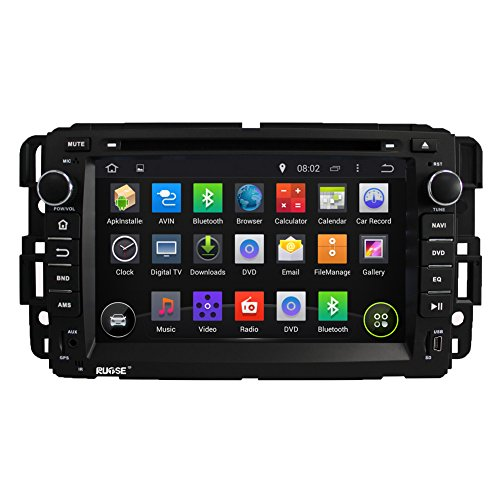 Rupse Android4.4.4 HD 1080p DVD Navigation System With 7inch Capacitive Screen For GMC Yukoo Tahoe Tahoe Screen