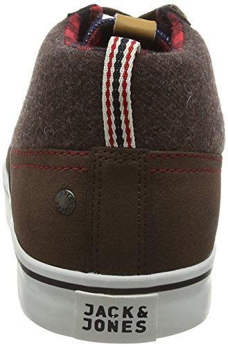Marrone amp; Uomo Jfwshark JONES Combo Scarpe Wool JACK Ginnastica Mid da Sneaker Java ZwaPxqpCnd