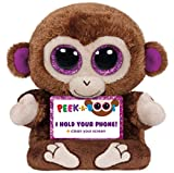Ty Peek-A-Boo Phone Holder with Screen Cleaner Bottom, Chimps