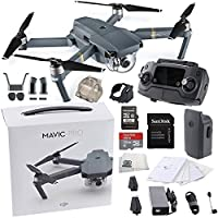 DJI Mavic Pro Collapsible Quadcopter Starters Bundle