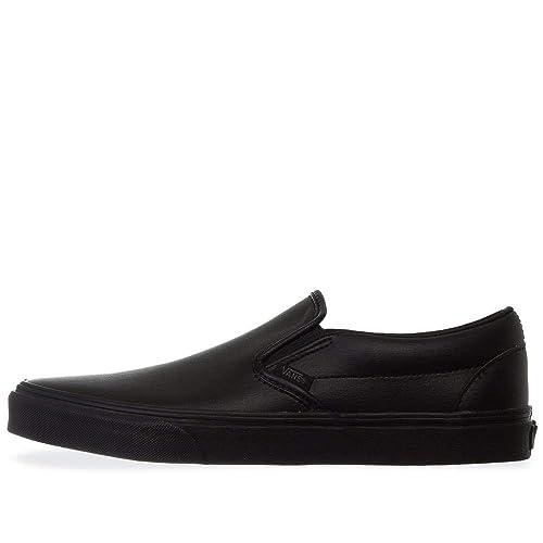 ec3dec77e14 Vans Classic Slip On Classic Tumble Black Mono Men s Skate Shoes Size 9