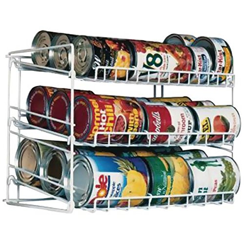 3-Tier Pantry Shelves Canrack in White by Atlantic