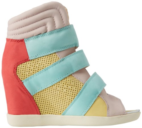 Turquoise donne le 9 Nubuc Lily Acquista Light Fashion Sneaker per Multi wxF8q7