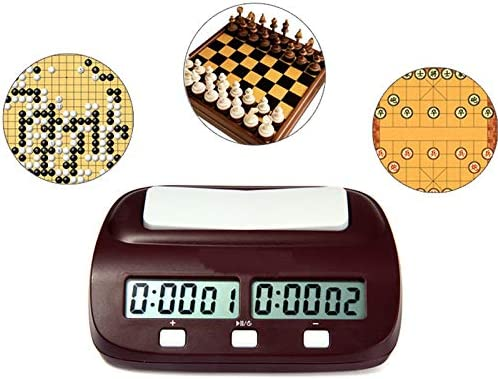 V.JUST Reloj de ajedrez Digital Cuenta atrás hasta Temporizador de ...