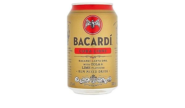 330 ml de Bacardi Cuba Libre: Amazon.es: Alimentación y bebidas