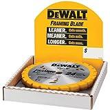 DEWALT DW3578B10 7-1/4-Inch 24T Framing Carbide Thin Kerf Circular Saw Blade
