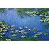 (24x36) Claude Monet Water Lilies Nympheas Art Print Poster