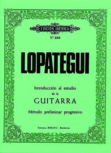 Introducción al estudio de la guitarra: Método preliminar ...