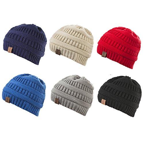 3702dcfc526a REDESS Baby Kids Winter Warm Fleece Lined Hats
