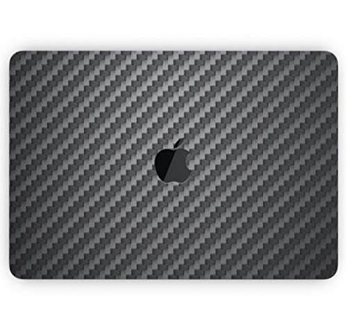 Carbon Fiber Texture - Design Skinz Premium Full-Body Cover Wrap Matte Finished Decal Skin-Kit for The MacBook Air 13