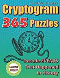 Cryptogram Puzzles For Adults And Seniors. Decode